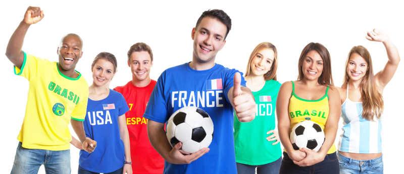 法国足球迷