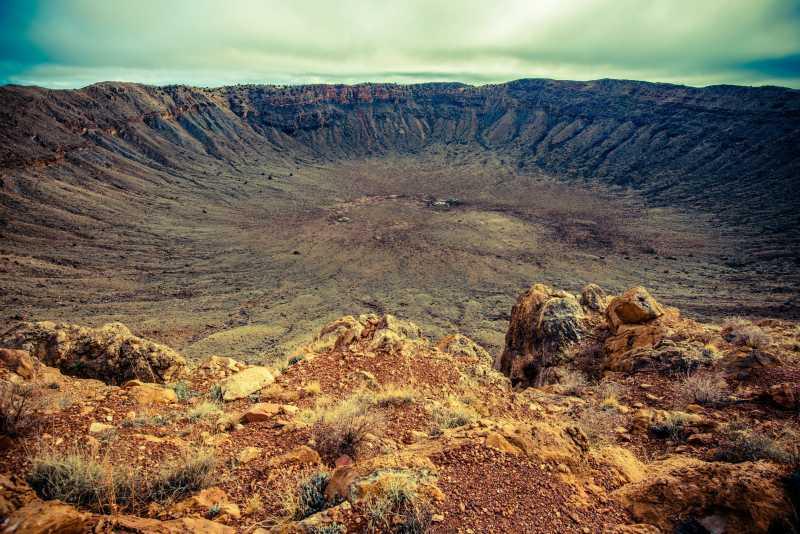 亚利桑那州的陨石坑