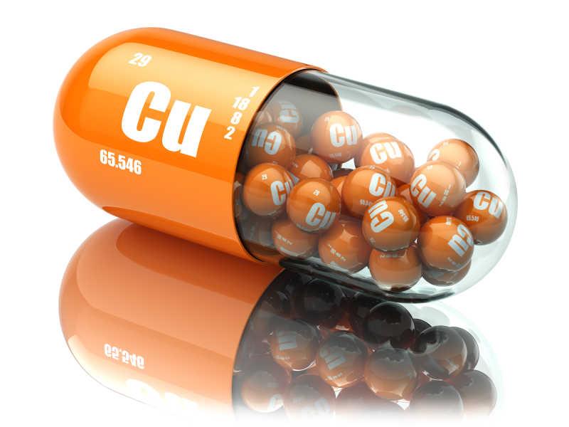 铜铜铜元丸膳食补充剂维生素