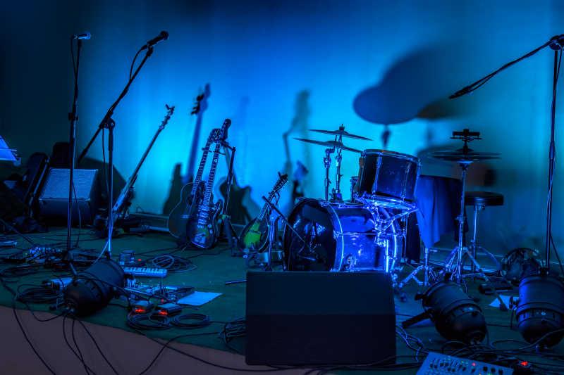 车库乐队的舞台