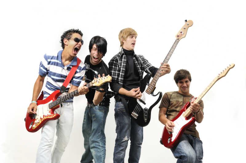 青少年摇滚乐队