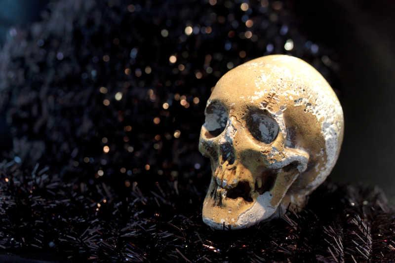 死亡的骨架