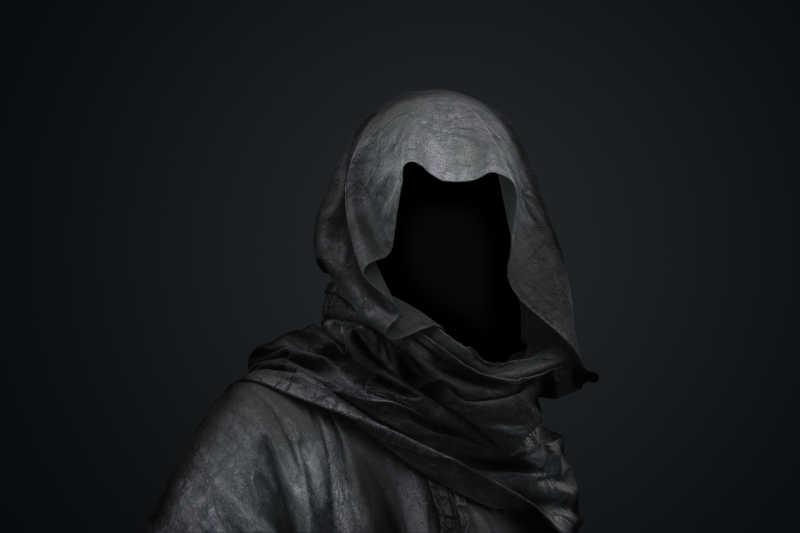 恐怖的无人头巾