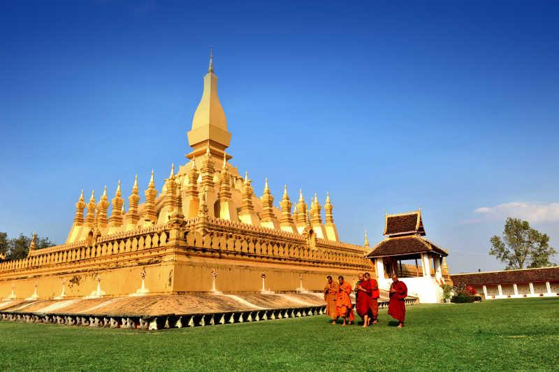 老挝佛教圣地塔銮