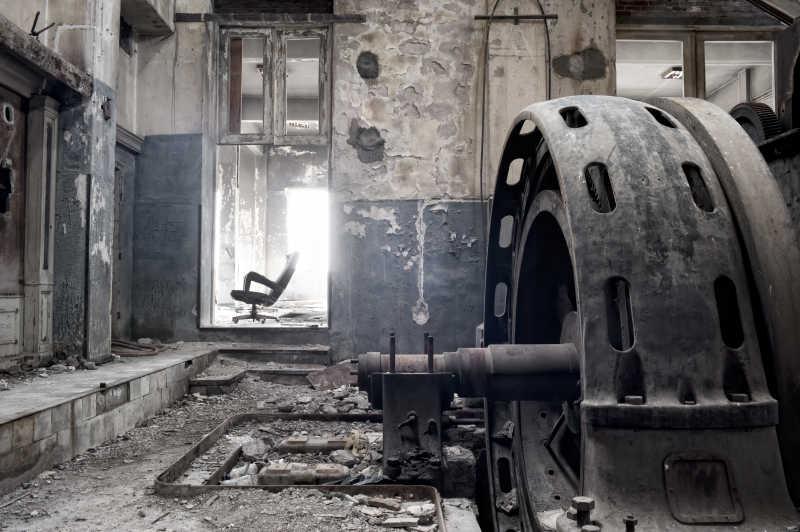 废弃的工厂