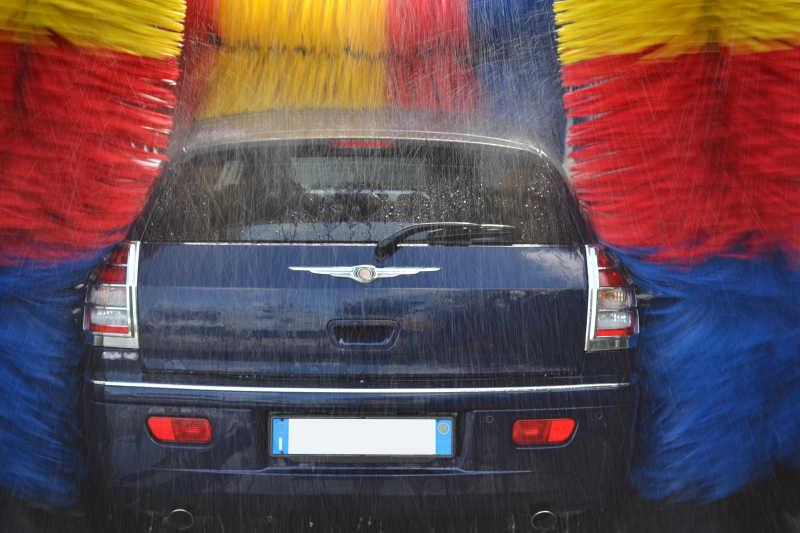 拖把清洗车