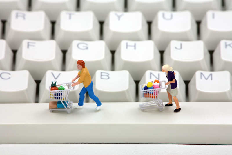 网上购物概念款