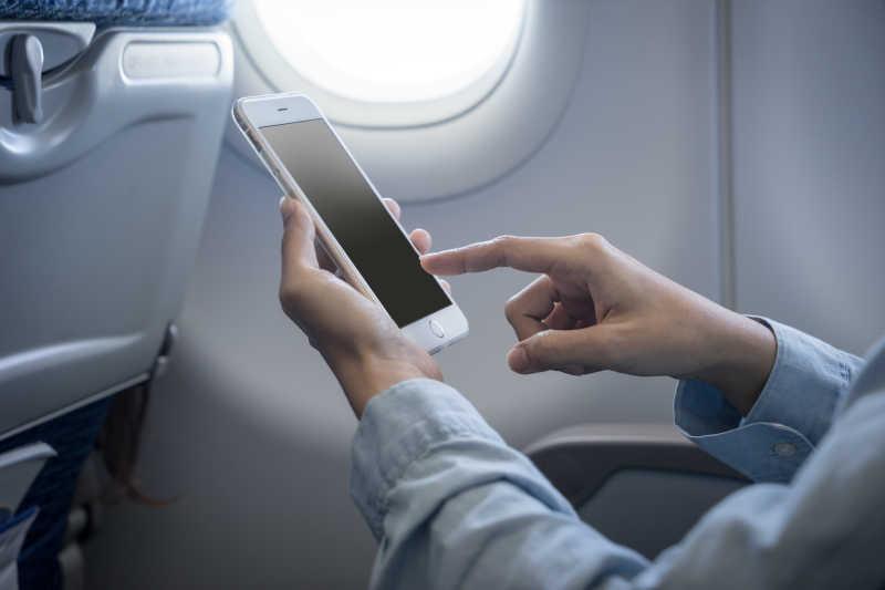 飞机上的数字移动电话
