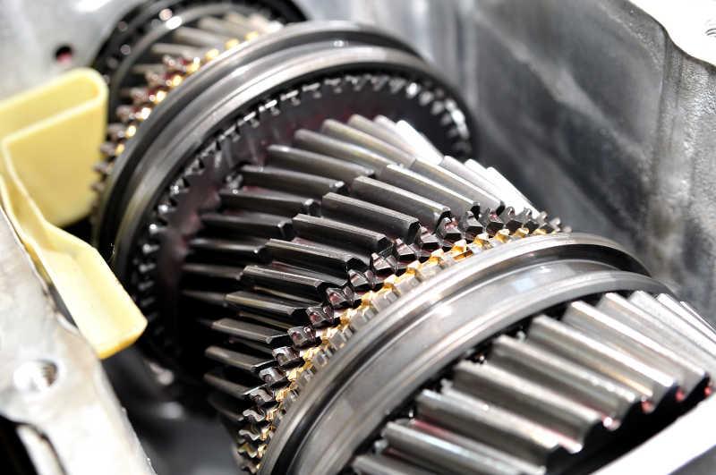 汽车齿轮特写