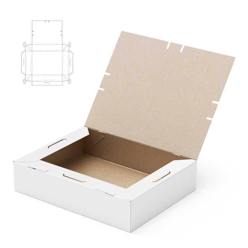 纸板包装盒模板
