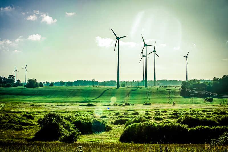 生态风力发电机