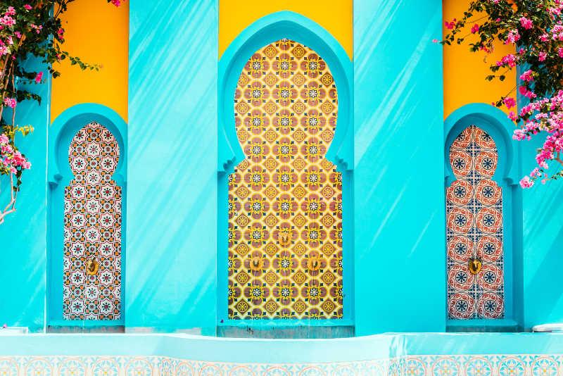 摩洛哥建筑风格