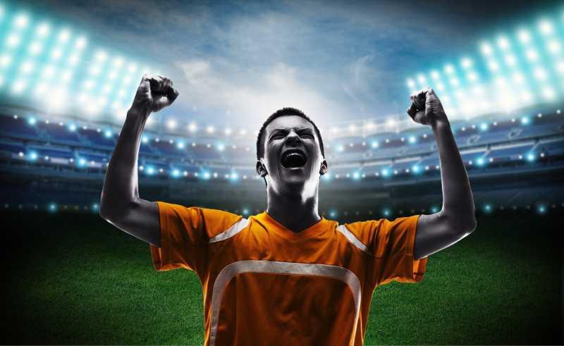 足球比赛的胜利