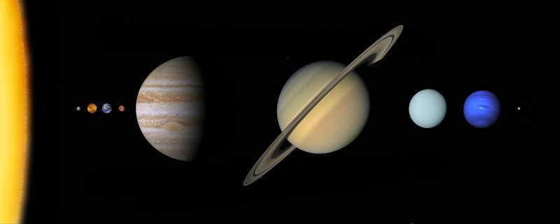 太阳系星系特写
