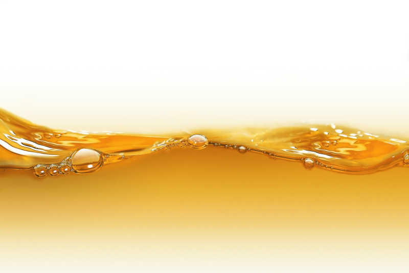 黄金色的油