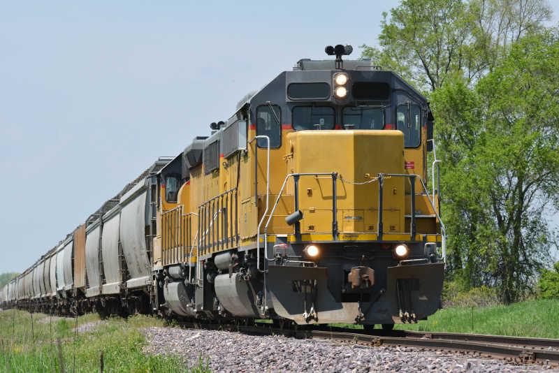 货运列车机车
