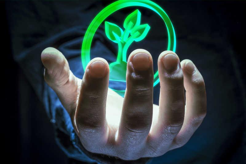 环境标志在你的手上
