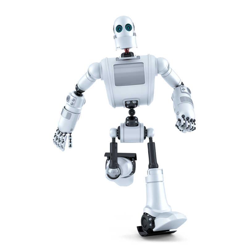 快速奔跑的机器人