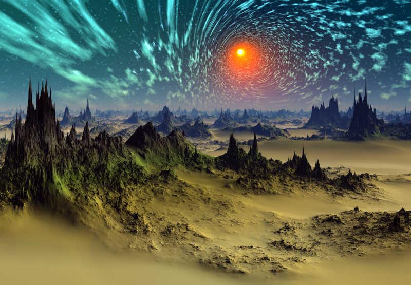 宇宙中的幻想世界