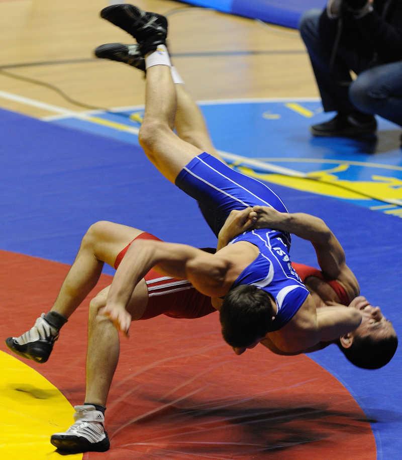 格斗运动员