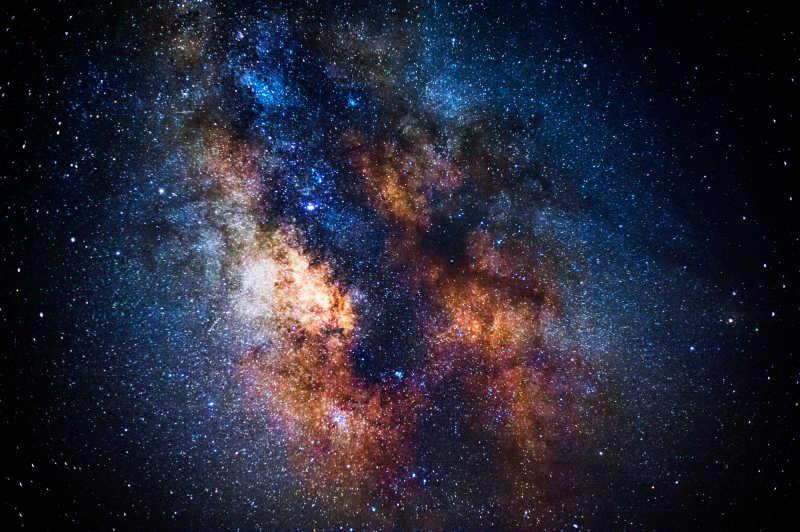 浩瀚宇宙银河系星云