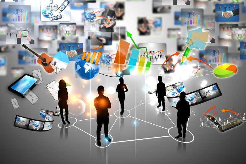 商业团队与社交