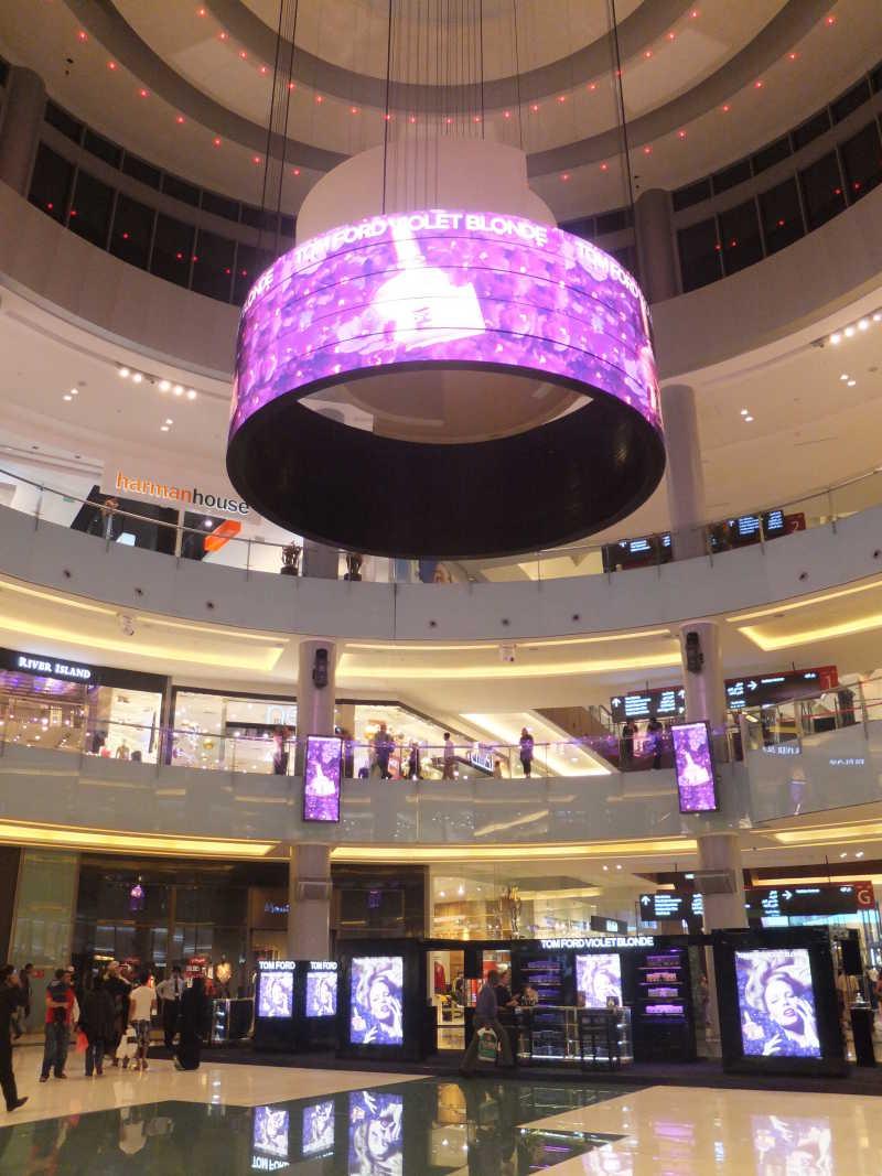 迪拜购物中心内部
