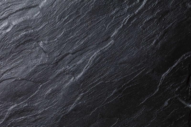 黑色石材纹理背景