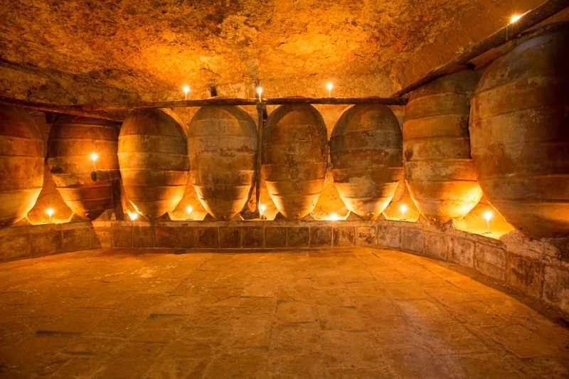 古老的酒窖