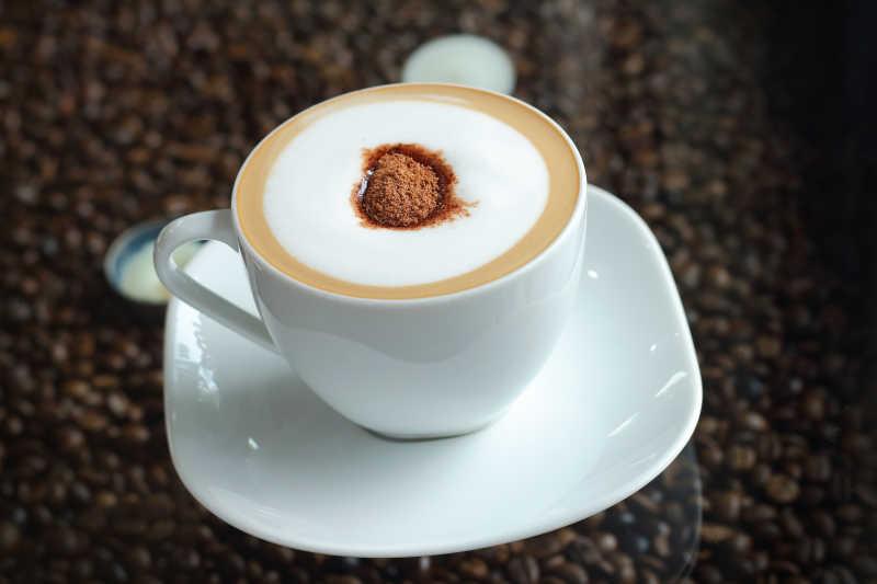 白咖啡摩卡