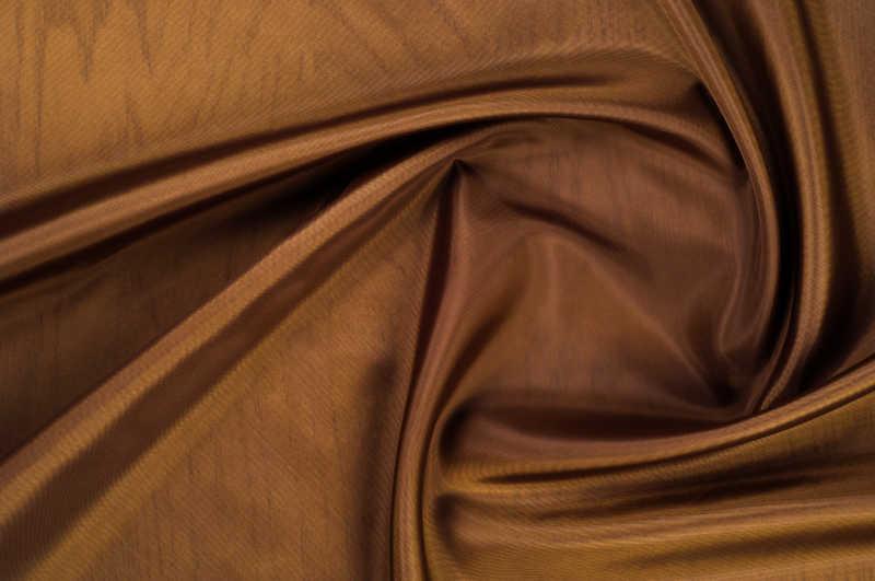 棕色丝质材料特写