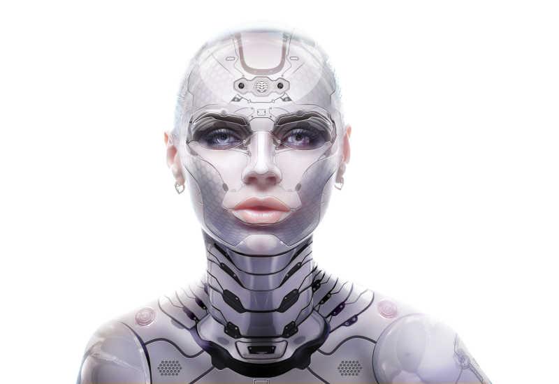 女性机器人