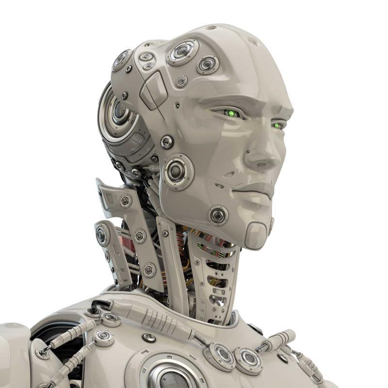 男性机器人