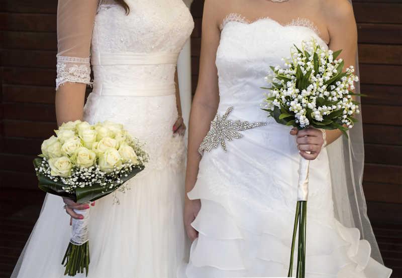 女同性恋者的民事婚礼