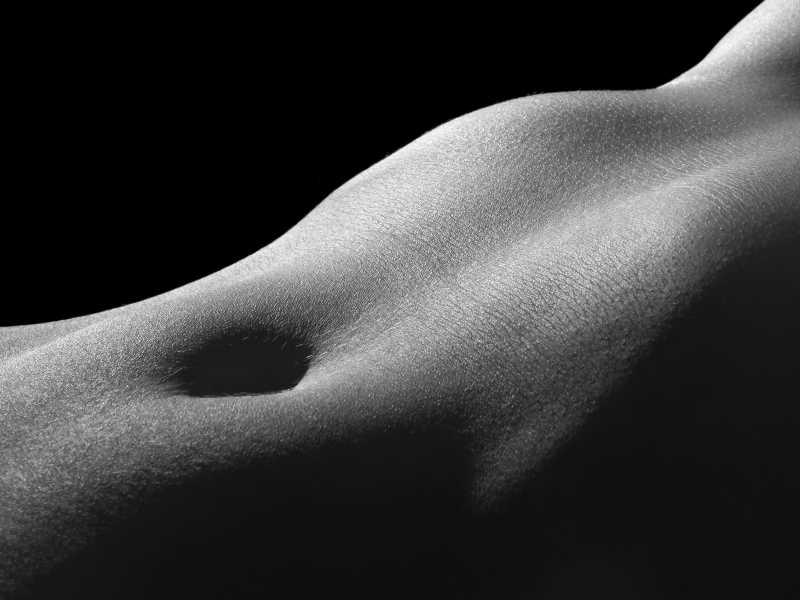 光滑的人体艺术