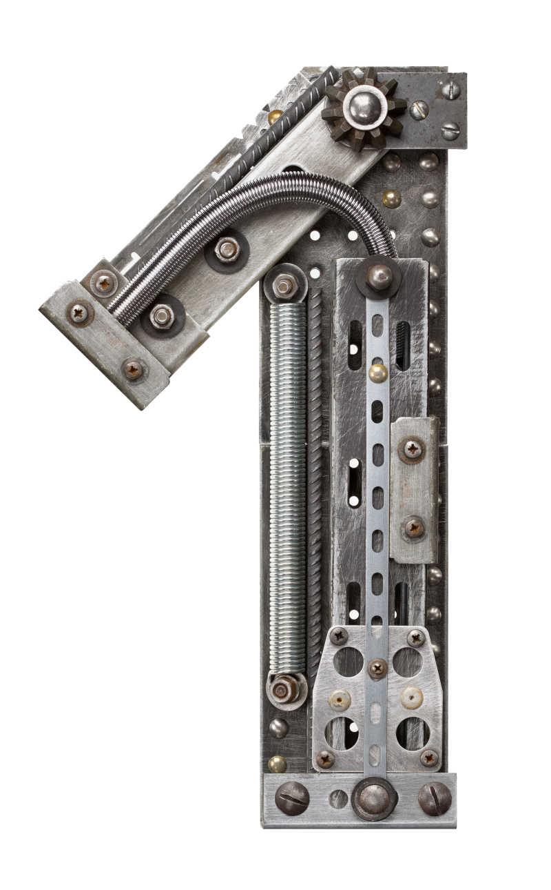 工业金属字母1