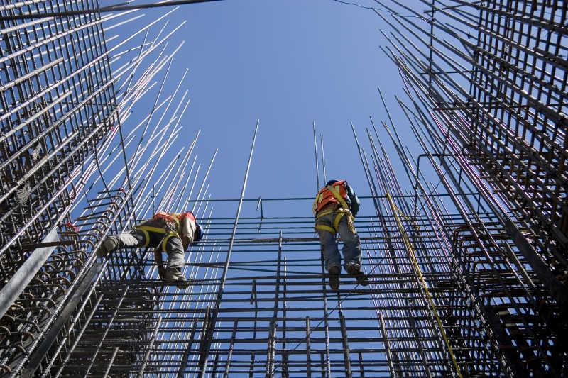 建筑工人保险概念