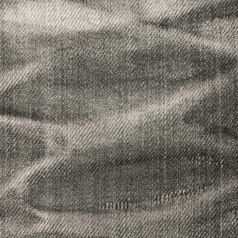 灰色牛仔裤纹理细节