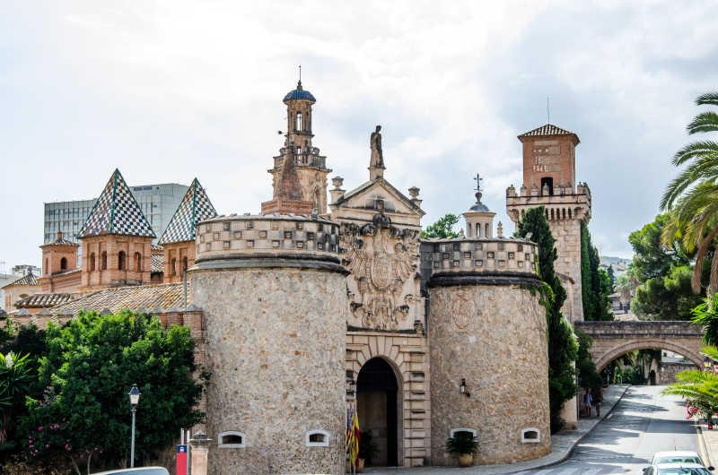 欧洲纪念碑建筑