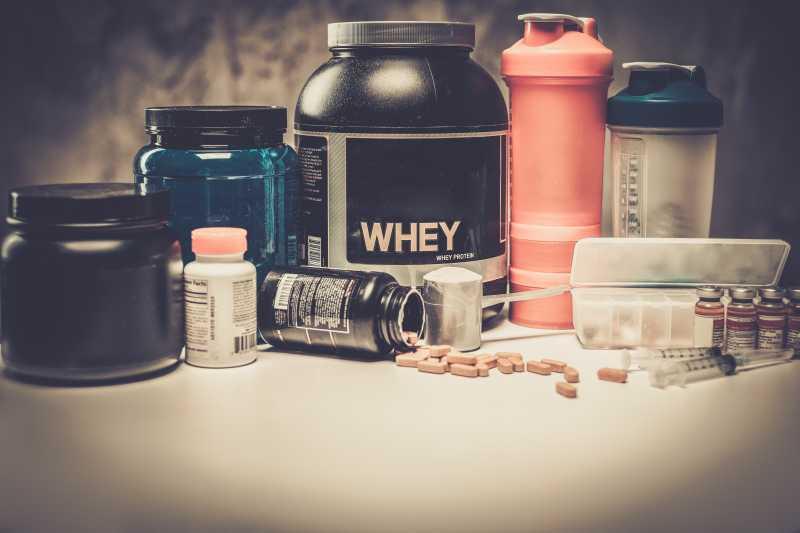健美营养补充药品