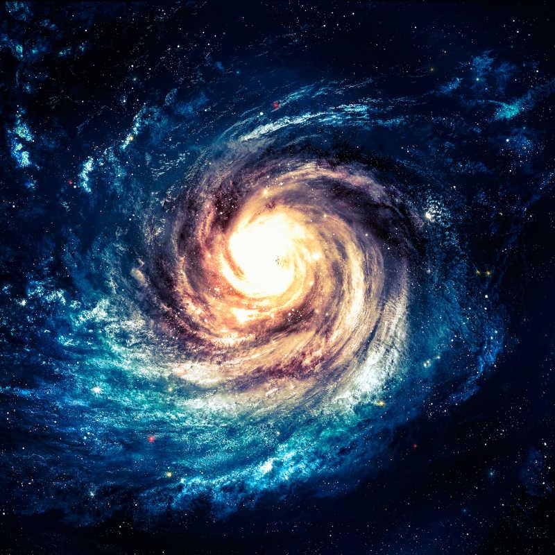 令人难以置信的美丽螺旋星系