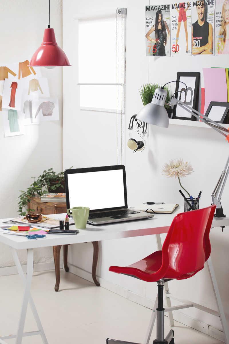 时尚设计创意办公区域