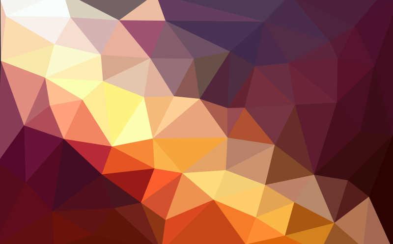 几何图形火焰背景