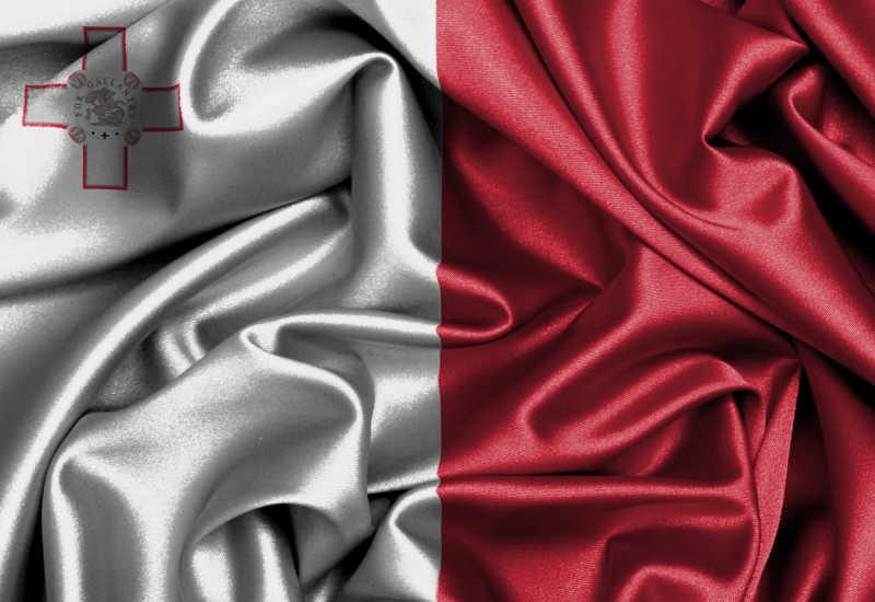 马耳他国旗缎面旗帜