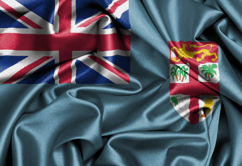 斐济国旗缎面旗帜