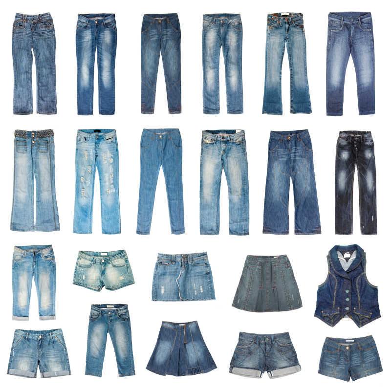 牛仔裤样式