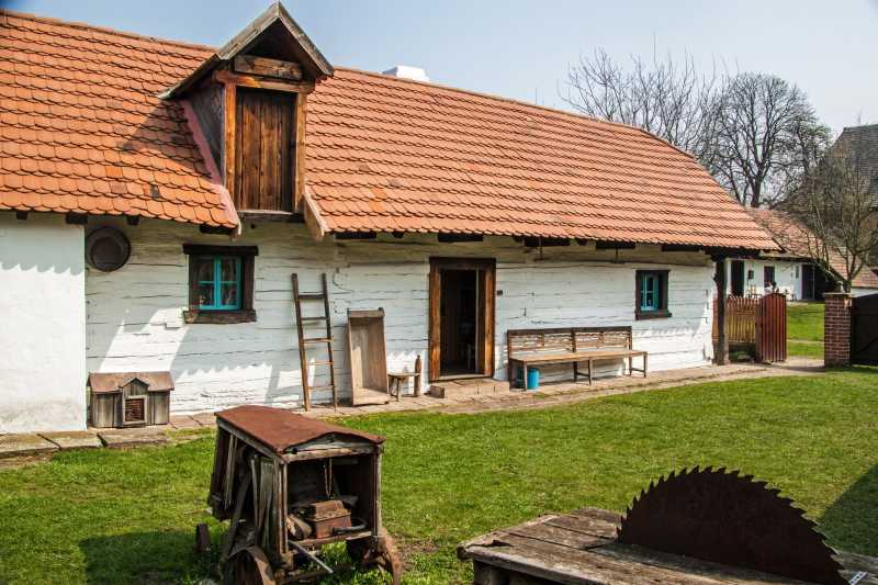 十九世纪的传统村屋