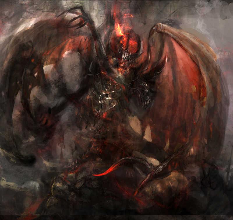 愤怒的恶魔