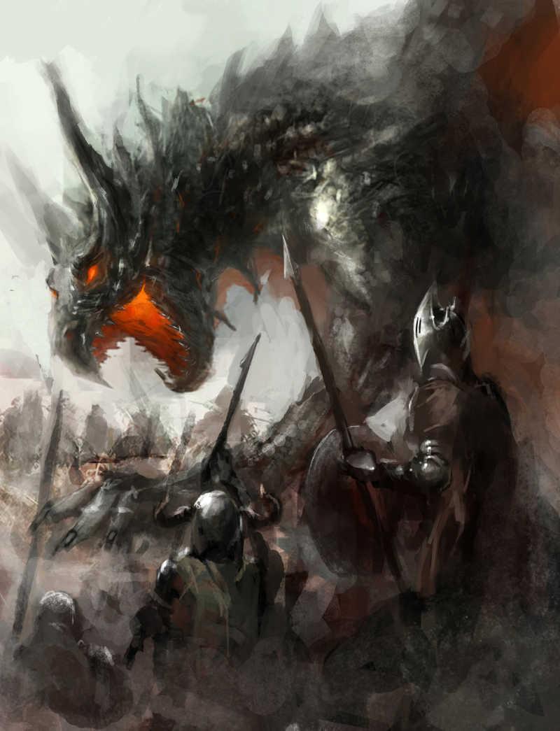 野外猎龙骑士