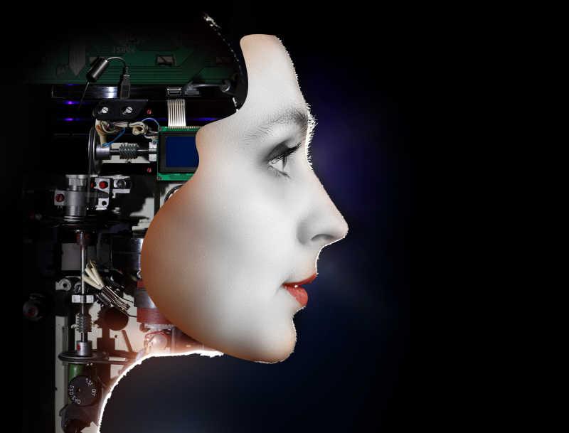 未来的女机器人